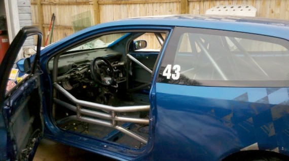 Honda Civic Si roll cage – Cage This