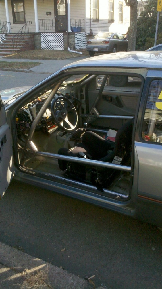 Merkur Xr4ti Rally America Spec Roll Cage Cage This