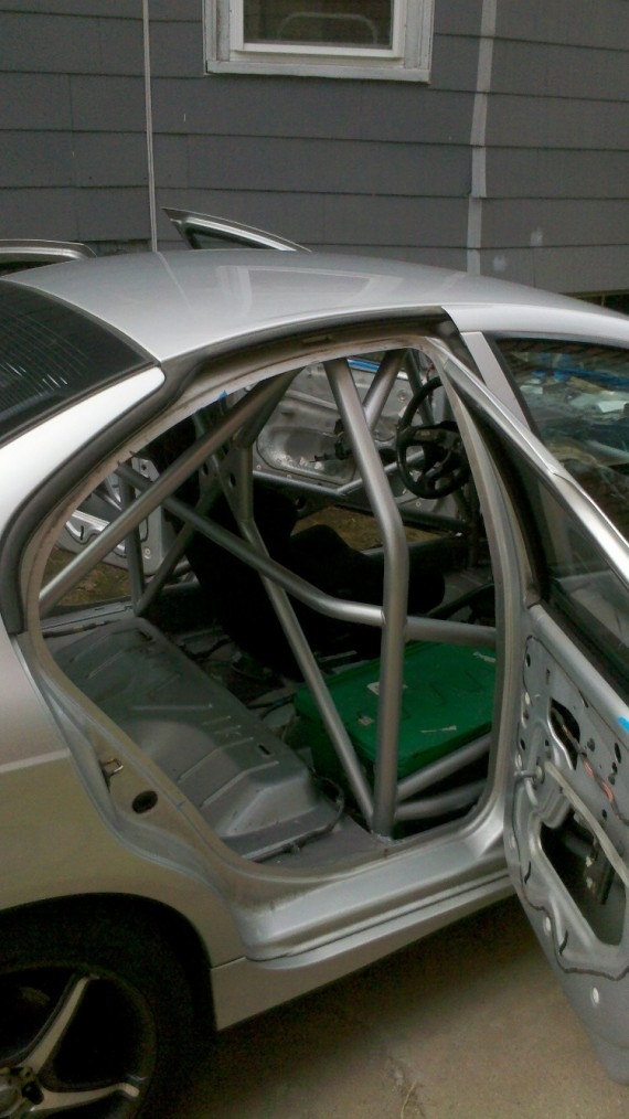 Dodge Neon SRT rally cage – Cage This