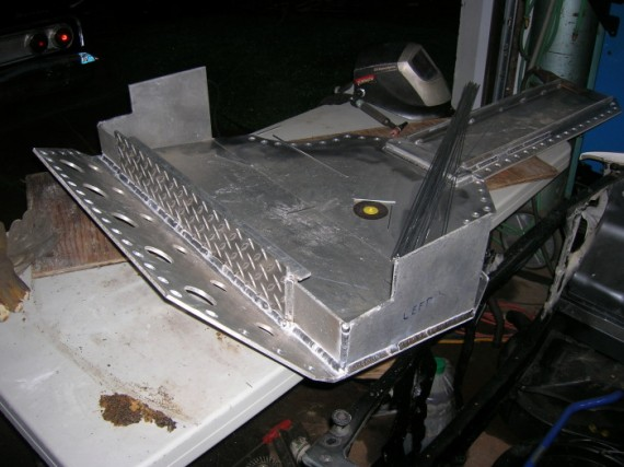 BMW Rally Skid plate finally done – Cage This