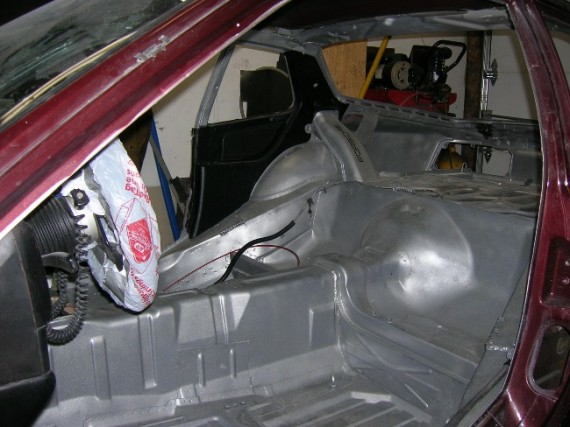 Porsche 944 Interior Before I Started With The Cage Build