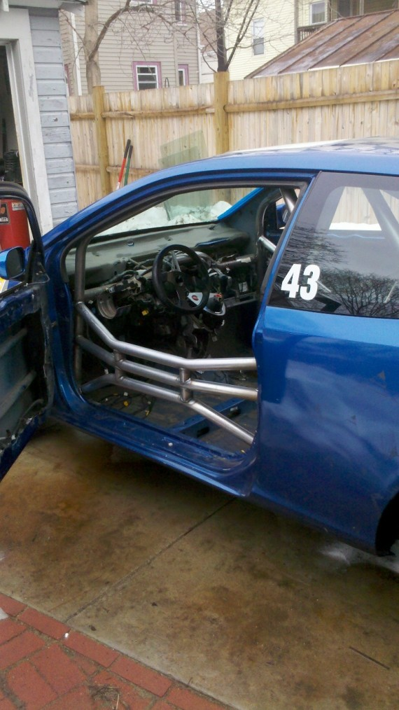 honda civic  roll cage cage